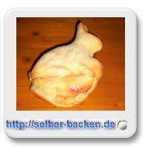 Osterhase aus Rührteig